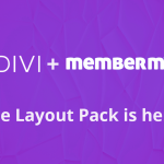 new and free membermouse divi layout pacl